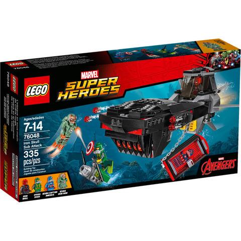 LEGO Super Heroes: Похищение Капитана Америка 76048 — Iron Skull Sub Attack — Лего Супергерои Марвел