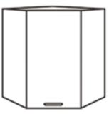 Чили ШВУ шкаф верхний угловой