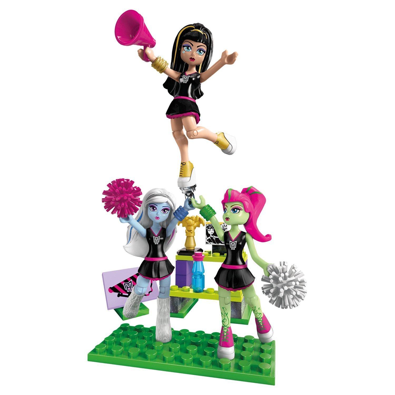 Маленький игровой набор Mega Bloks Monster High: 3 фигурки