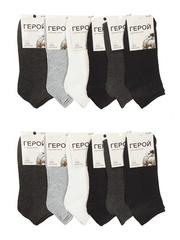 23 носки мужские, цветные 41-47 (12шт.)
