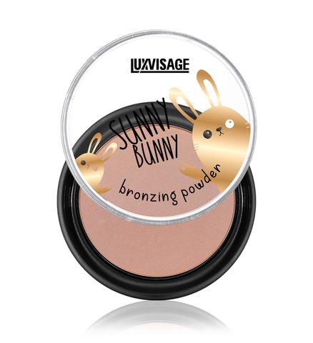 LuxVisage Sunny Bunny Пудра-бронзатор с эффектом естественного загара и легкого сияния 10г