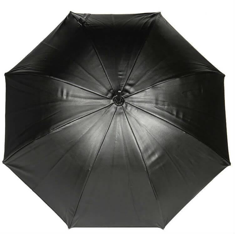 Зонт-трость Jean Paul Gaultier 167 VIP кожаный купол