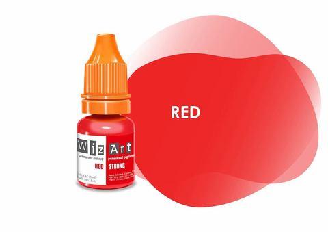 Red (классический красный) • Wizart Strong • пигмент для губ