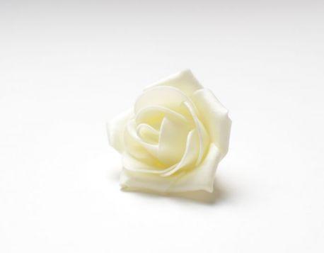Цветок розы средней 5 см (фоамиран).