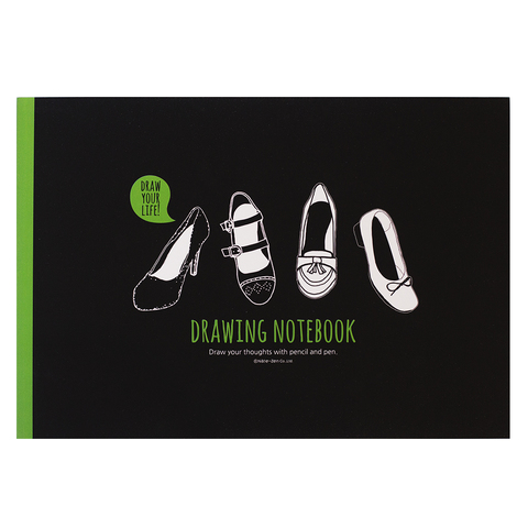 Скетчбук Drawing Notebook Shoes