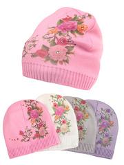 F69-9 шапка детская, цветная (флис)