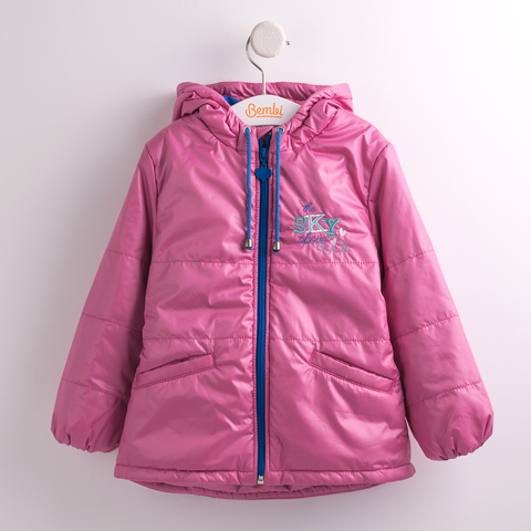 КТ142 Куртка для девочки утепленная