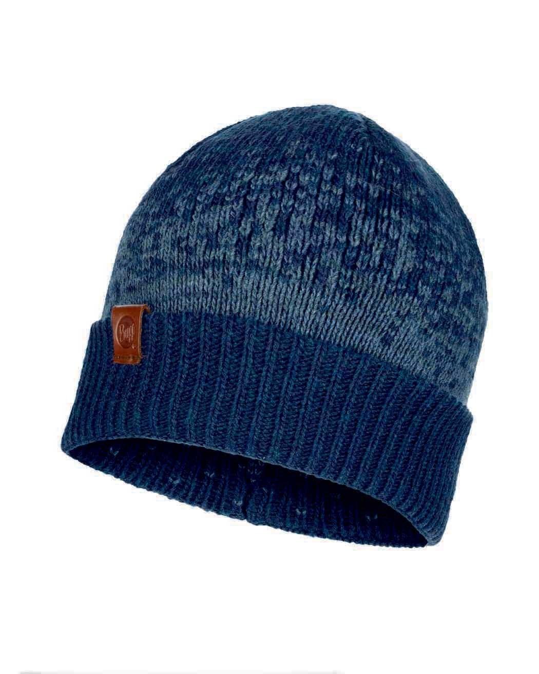 Шапки средней вязки Вязаная шапка Buff Hat Knitted Valter Navy 117890.787.10.00.jpg