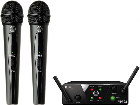 AKG WMS40 Mini2 Vocal Set BD ISM2/3 EU/US/UK вокальная радиосистема