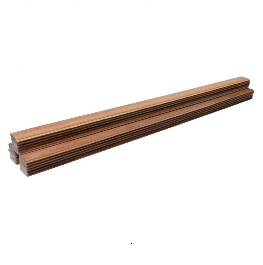 Вагонка: Вагонка кедр SAWO SP02-402-1327 13.8x106x2720мм (упаковка 9 штук)