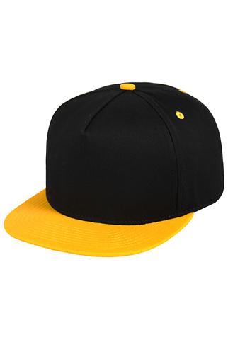 Кепка черная с желтым