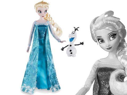 Кукла Эльза с питомцем Олаф, Фрозен