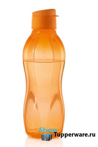 Бутылка Эко (750 мл) в оранжевом цвете