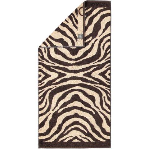 Полотенце 30х50 Cawo Zebra 562 коричневое