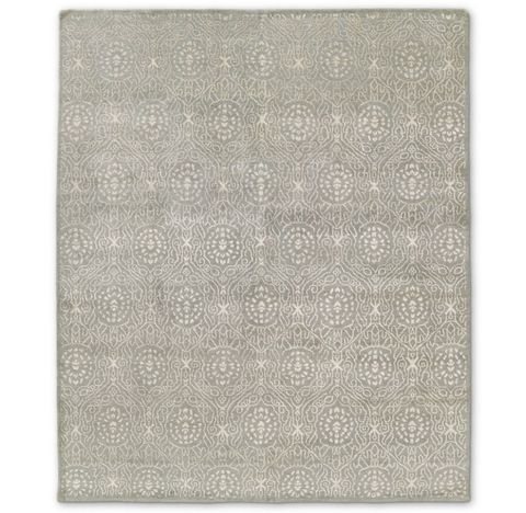 Ankara Rug - Light Grey