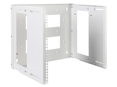 Кронштейн телекоммуникационный настенный 3U, регулируемая глубина 300-450 мм