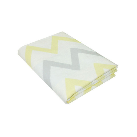 Одеяло байковое Премиум Зигзаги