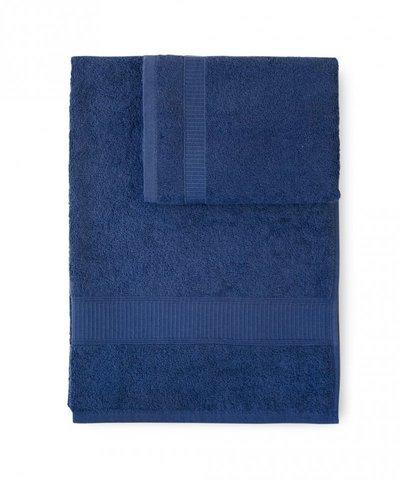 Набор полотенец 2 шт Caleffi Calypso темно-синий