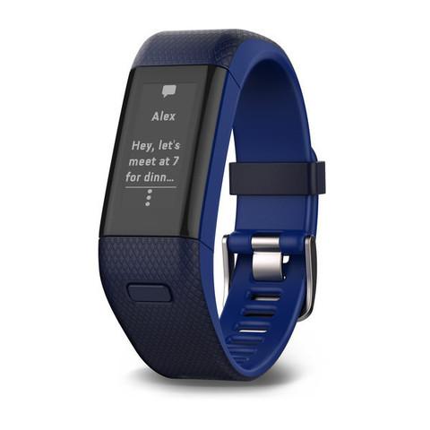 Купить Фитнес-браслет Garmin Vivosmart HR+ Темно-синие 010-01955-44 по доступной цене