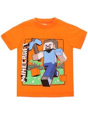 MK002F-10 футболка детская, оранжевая
