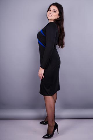 Мальта. Жіноча повсякденна сукня плюс сайз. Електрик.