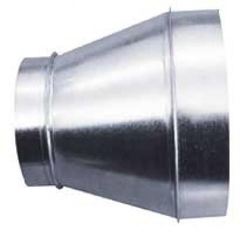 Переход/утка  500х300 оцинкованная сталь