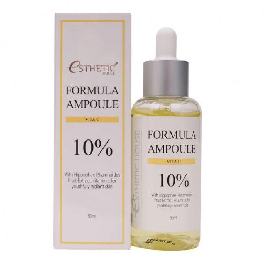 Esthetic House Сыворотка для лица с Витамином C Formula Ampoule Vita C 10%, 80 мл