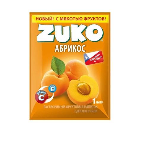 Растворимый напиток ZUKO  Абрикос 1кор*8бл*12шт 25 гр.