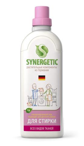 SYNERGETIC кондиционер для белья Миндальное молочко