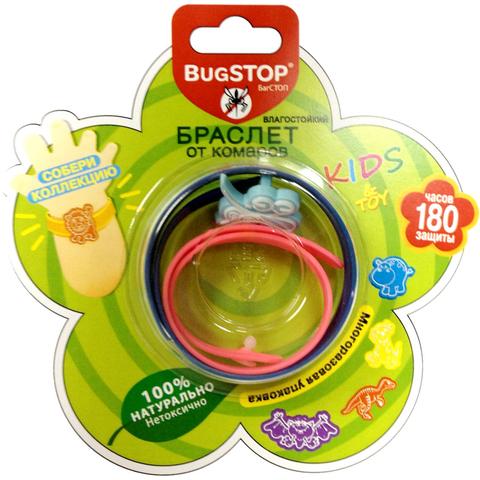 BugSTOP. Браслет от комаров с игрушкой Kids&Toy, с 3-х лет