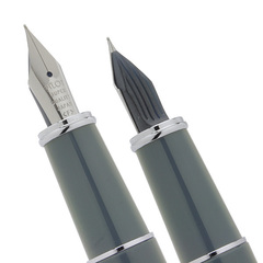 Перьевая ручка Pilot Prera (перо Fine 0,3 мм, цвет Slate Gray - Сланцево-серая)