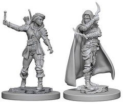 Pathfinder Deep Cuts Unpainted Miniatures - Human Female Rogue