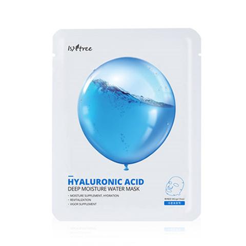 Увлажняющая тканевая маска с гиалуроновой кислотой, 20 г / Isntree Hyaluronic Acid Deep Moisture Water Mask