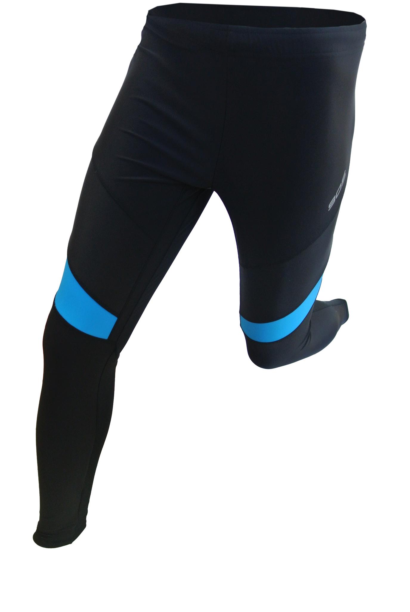 Лосины для бега 905 Victory Code синие (15010101) унисекс фото