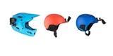 Крепления на шлем GoPro Helmet Front + Side Mount (AHFSM-001) на шлемах