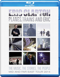Eric Clapton ‎/ Planes, Trains And Eric (Blu-ray)