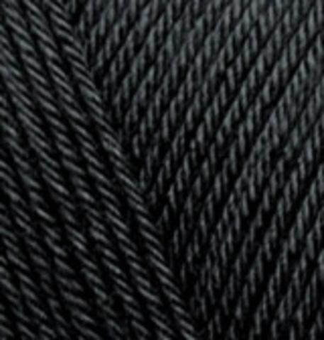 Пряжа Diva Plus Alize 60 черный, фото