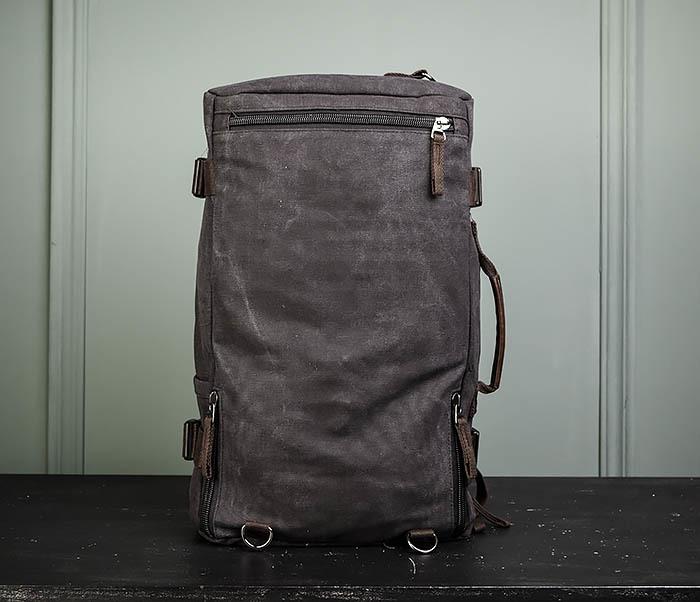 BAG479-1 Большой рюкзак трансформер из текстиля фото 13