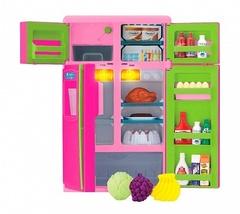 Холодильник side-by-side (свет, звук) (Keenway, 21676)