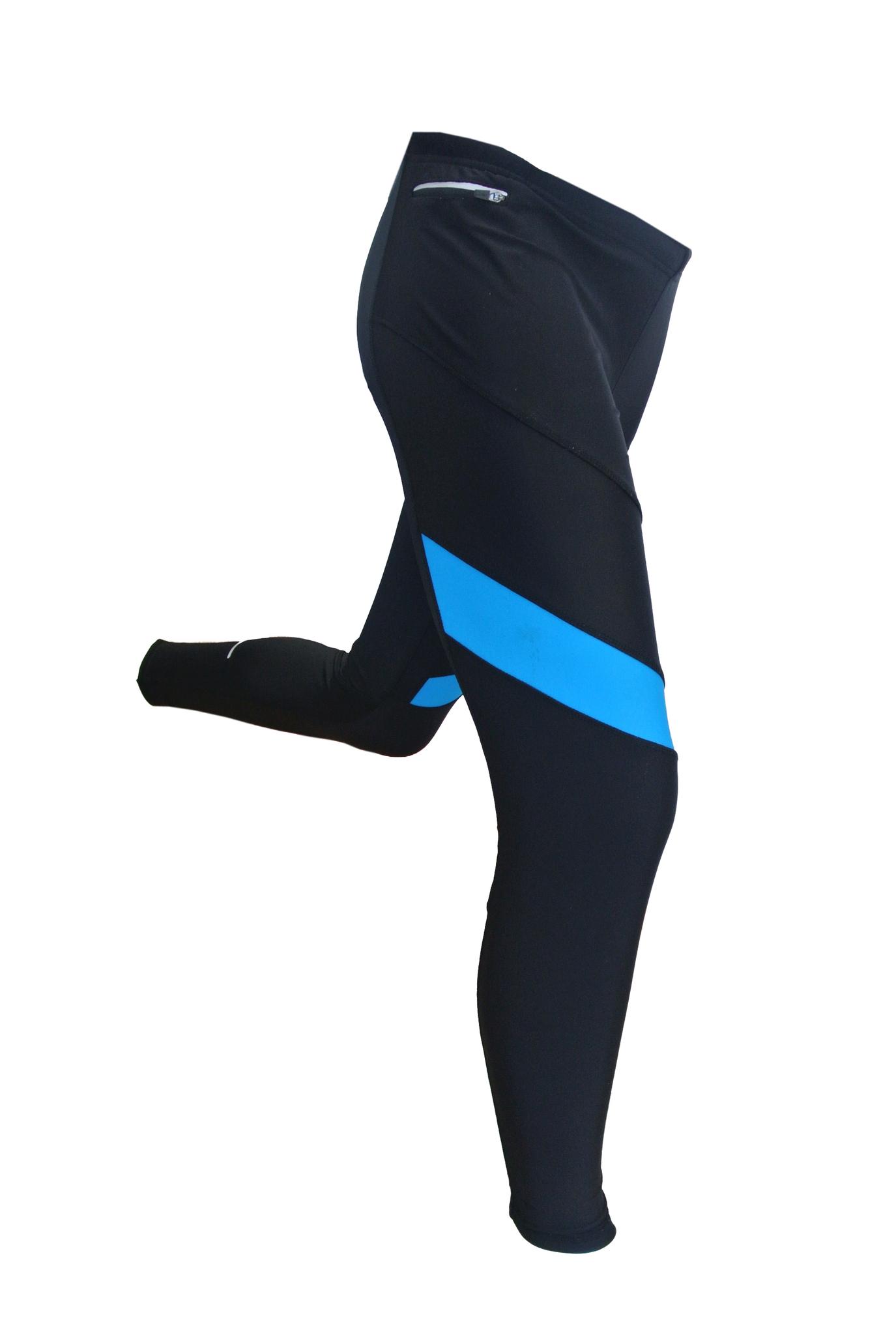 Мужские лосины для бега 905 Victory Code синие (15010101) унисекс