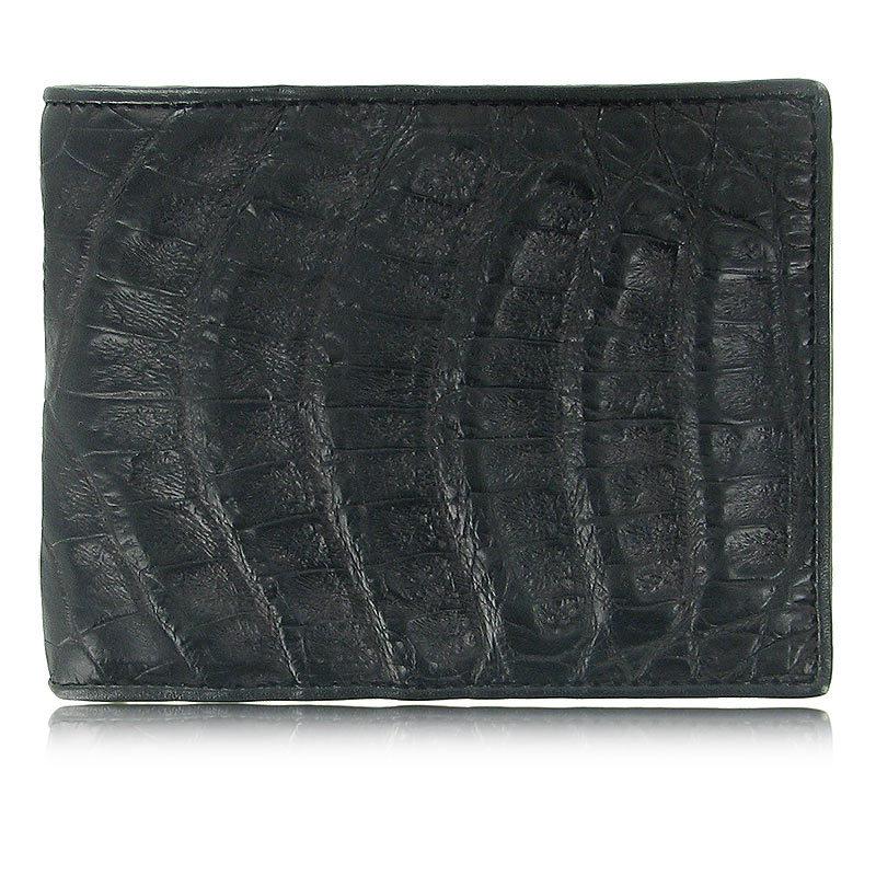 Мужской кошелек из кожи каймана (спинная часть) WR-106