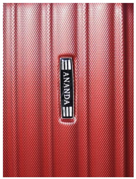 Чемодан Ananda APL-833 Бордовый (M)