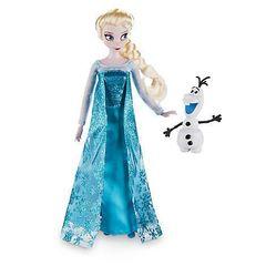 Кукла Эльза с питомцем, Холодное сердце, базовая