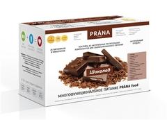 Коктейль, PRANA food, Шоколад, коробка, 14 X 15 гр