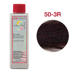 CHI Ionic Shine Shades Liquid Color 50-3R (Темный натуральный красно-коричневый) - Жидкая краска для волос