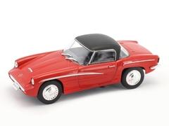 Syrena Sport 1960 red-black 1:43 DeAgostini Kultowe Auta PRL-u
