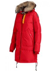 Пуховик Parajumpers Long Bear Scarlet (Алый)