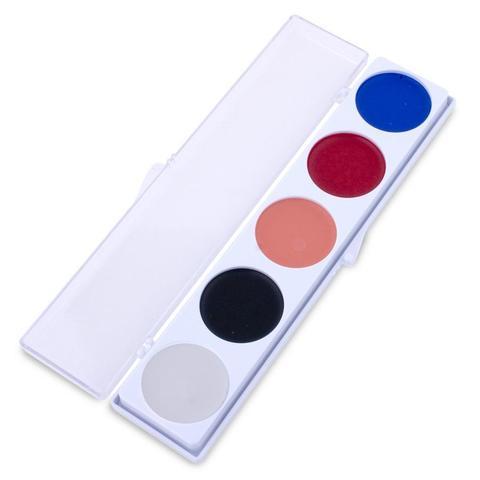 MEHRON Палитра кремового грима 5-Color Palette 2