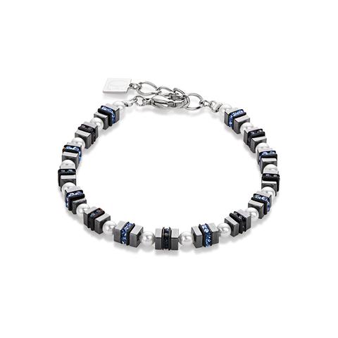 Браслет Coeur de Lion 4786/30-0700 цвет серый, белый
