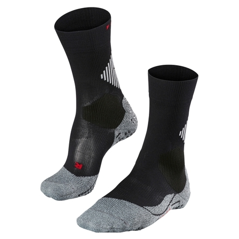 Falke Socken 4 Grip Cushion schwarz
